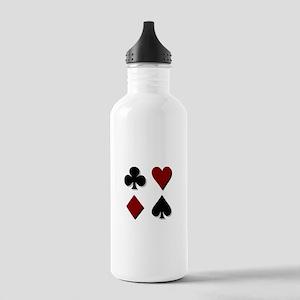 Poker 3 Stainless Water Bottle 1.0L