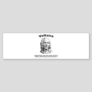 Voltaire Superstition Sticker (Bumper)