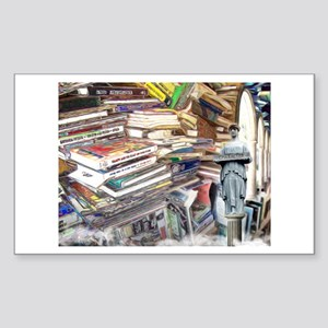 So Many Books To Read Sticker