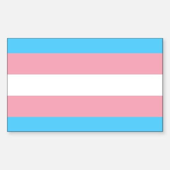 Unique Gender neutral Sticker (Rectangle)