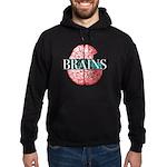 Brain Logo Hoodie (dark)