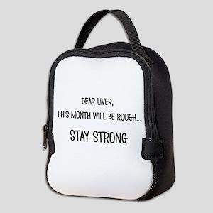 Dear Liver Neoprene Lunch Bag