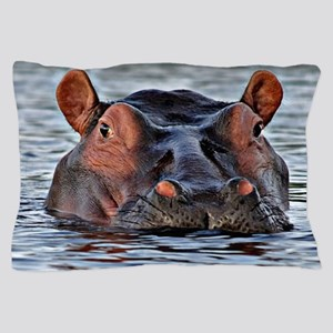 Hippo Pillow Case