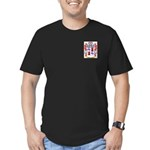 McNaught Men's Fitted T-Shirt (dark)