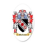 McNamee Oval Car Magnet