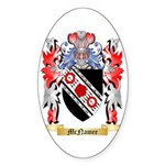 McNamee Sticker (Oval 50 pk)