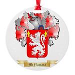 McNamara Round Ornament