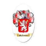 McNamara Oval Car Magnet