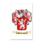 McNamara Rectangle Car Magnet