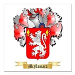 McNamara Square Car Magnet 3