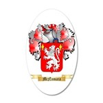 McNamara 20x12 Oval Wall Decal