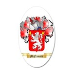 McNamara 35x21 Oval Wall Decal