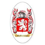 McMurrough Sticker (Oval 50 pk)