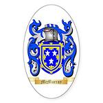 McMurray Sticker (Oval 50 pk)