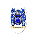 McMurray 20x12 Oval Wall Decal