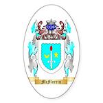 McMorrin Sticker (Oval 50 pk)