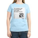 Scientist Cabin Bicycle Women's Light T-Shirt