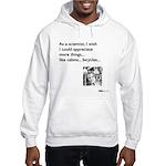 Scientist Cabin Bicycle Hooded Sweatshirt