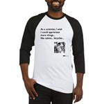 Scientist Cabin Bicycle Baseball Jersey
