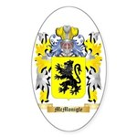 McMonigle Sticker (Oval 50 pk)