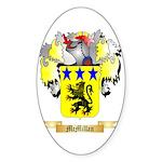 McMillan Sticker (Oval 50 pk)