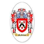 McMillan (Ireland) Sticker (Oval 10 pk)