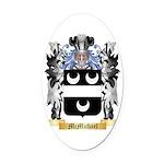 McMichael Oval Car Magnet