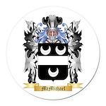 McMichael Round Car Magnet