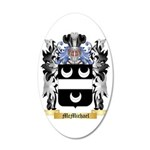 McMichael 35x21 Oval Wall Decal