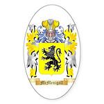 McMenigall Sticker (Oval)