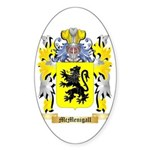 McMenigall Sticker (Oval 50 pk)