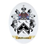 McMenamin Oval Ornament