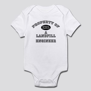 Property of a Landfill Engineer Infant Bodysuit