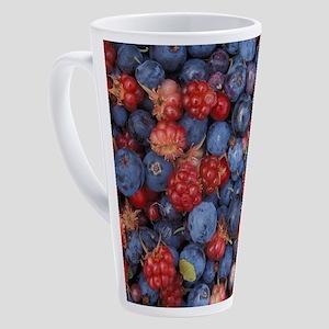 WILD BERRIES 1 17 oz Latte Mug