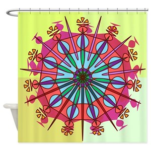 Spike Shower Curtains