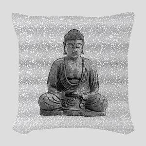 The Whole Dhammapada Woven Throw Pillow