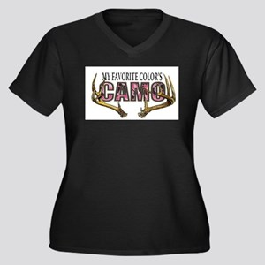 My Favorite Colo's Camo Plus Size T-Shirt