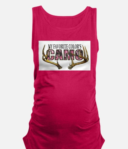 My Favorite Colo's Camo Maternity Tank Top