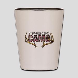 My Favorite Colo's Camo Shot Glass
