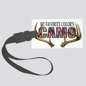 My Favorite Colo's Camo Large Luggage Tag