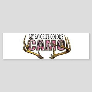 My Favorite Colo's Camo Bumper Sticker