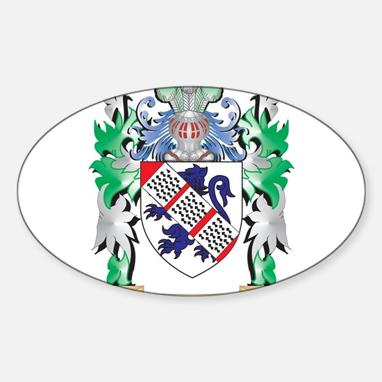 Fulton Coat of Arms (Family Crest) Decal