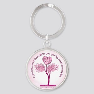 What God Wills For You Round Keychain Keychains