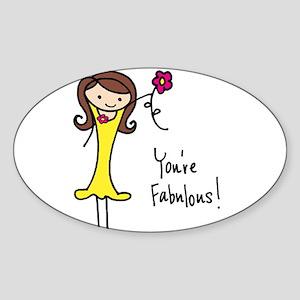 Fabulous Flo Sticker