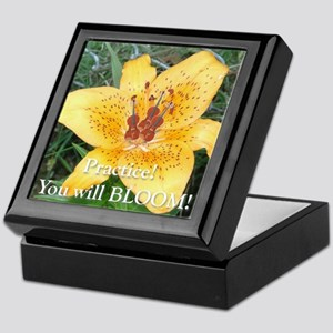 Practice and Bloom Keepsake Box
