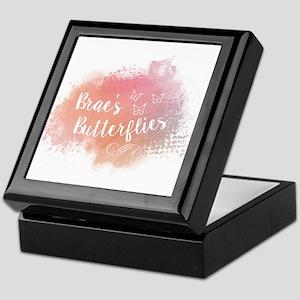 Brae's Butteflies Keepsake Box