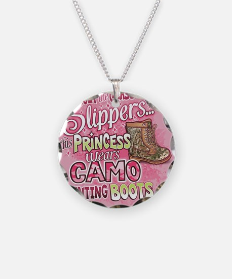 This Princess Wears Camo Necklace