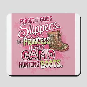 This Princess Wears Camo Mousepad