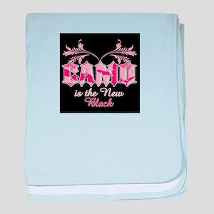 Camo Is The New Black baby blanket