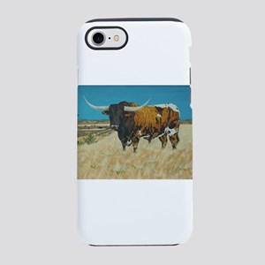Longhorn and Windmill iPhone 8/7 Tough Case